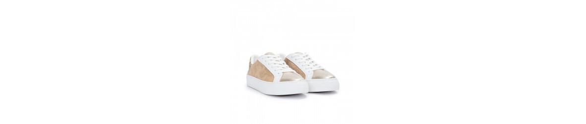 chaussures femme mode Baskets montantes, plates, compensées