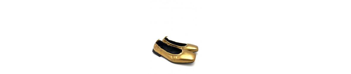 chaussures femmes ballerines plates cuir imprimées python ou léopard