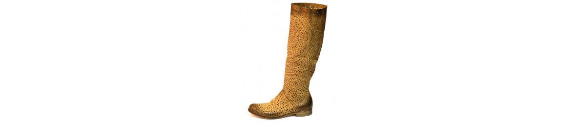 chaussures femme bottes cavalières 2,3 cm chic sobre noir marron