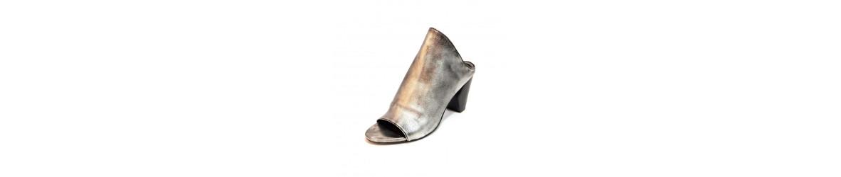 chaussures femmes mules à talons, compensées mode bohème chic
